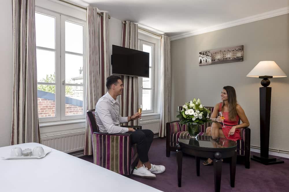 奢華客房, 1 張標準雙人床 - 客廳