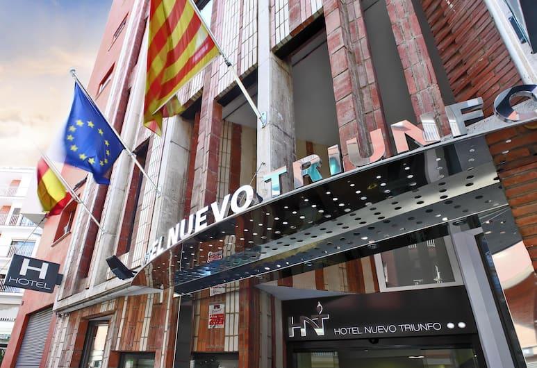 Hotel Nuevo Triunfo, Barcelone, Façade de l'hôtel