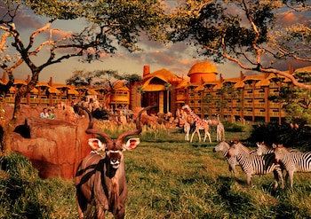 Lake Buena Vista bölgesindeki Disney's Animal Kingdom Lodge resmi
