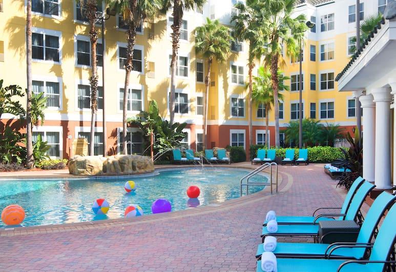 奧蘭多布納維斯塔胡萬豪長住飯店, 奧蘭多, 室外游泳池