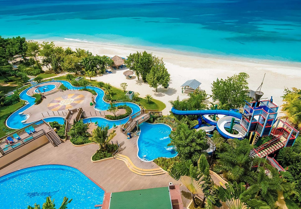 Beaches Negril Resort Spa All Inclusive Aerial View