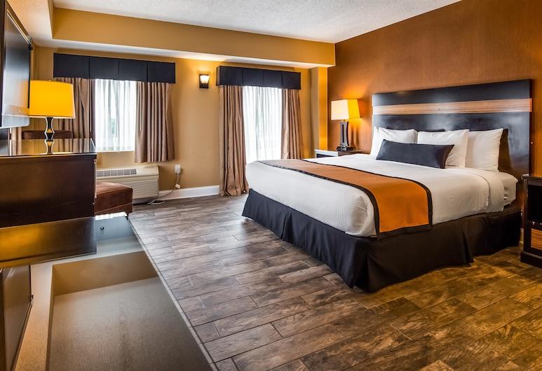 Best Western Plus Newark Airport West, Ньюарк, Стандартный номер, 1 двуспальная кровать «Кинг-сайз», для людей с ограниченными возможностями, ванна, Номер