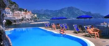 Selline näeb välja Luna Convento, Amalfi