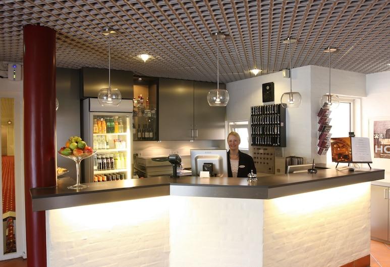 City Hotel Odense, Odense, Reception