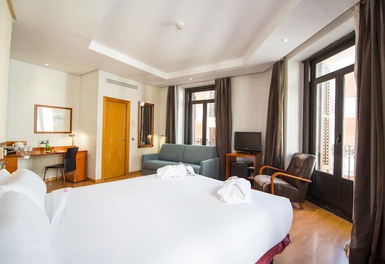 Petit Palace Preciados, Madrid, Superior-Zimmer, Balkon, Zimmer