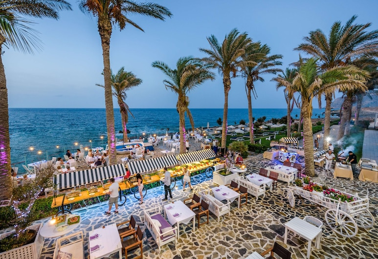 Radisson Blu Beach Resort, Milatos Crete, Agios Nicólaos, Terrasse/Patio
