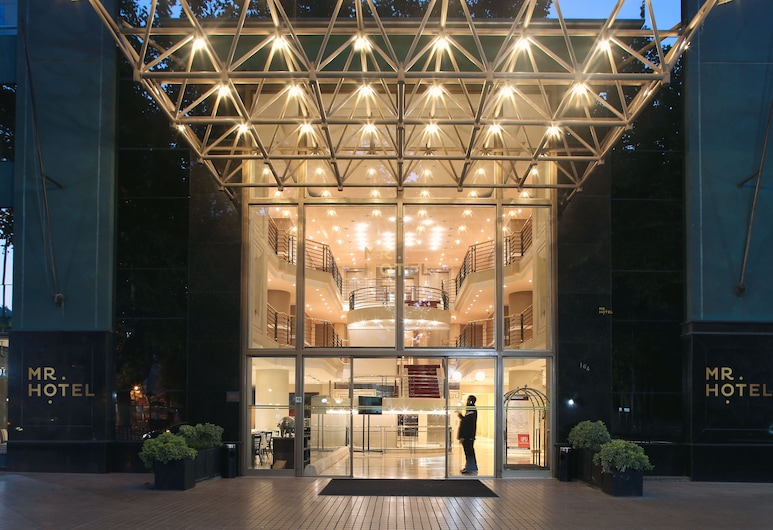 アパート ホテル ネルーダ, サンティアゴ, ホテル エントランス