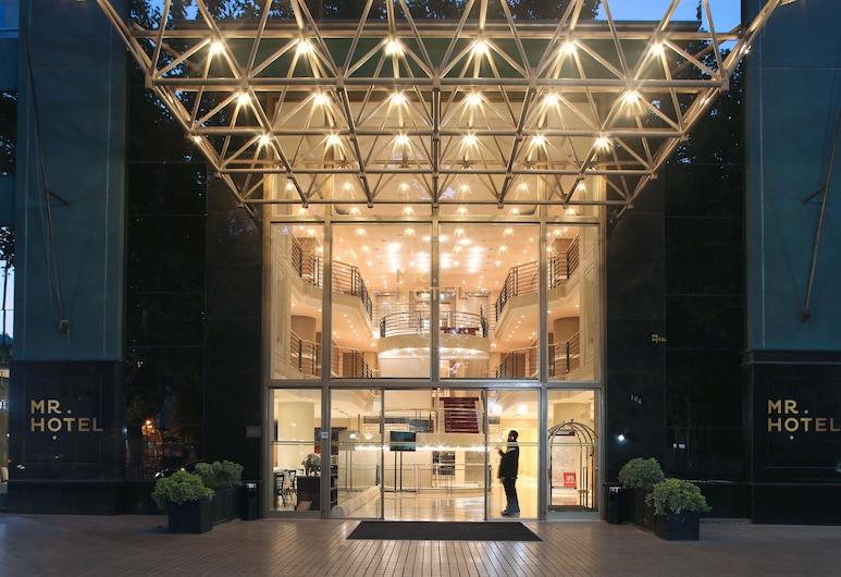 MR Apart, Santiago, Vchod do hotela