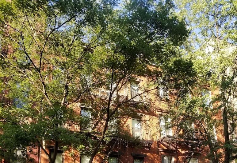 414 هوتل, نيويورك, واجهة الفندق