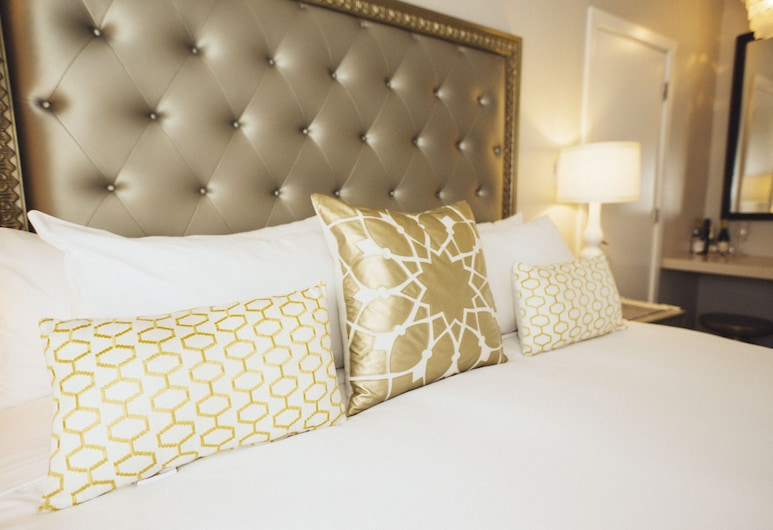 Hotel Beverly Terrace, Beverly Hills, Studio Deluxe, Łóżko king, Pokój