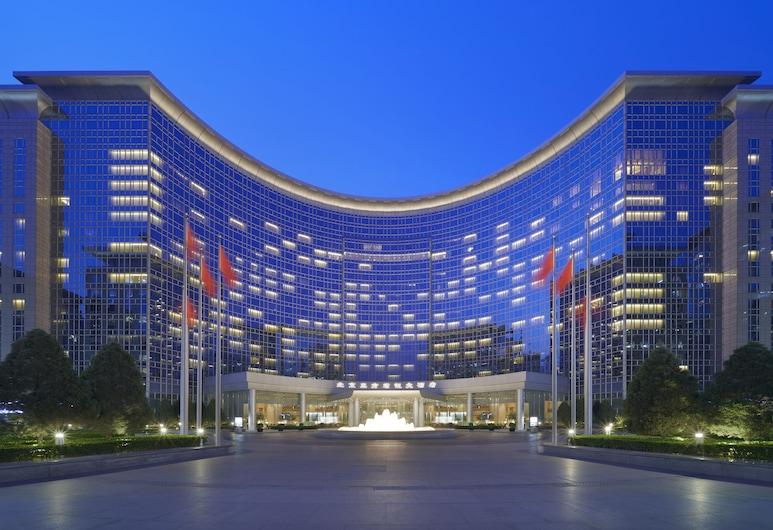 Grand Hyatt Beijing, Pekina, Paaugstināta komforta numurs, 1 divguļamā karaļa gulta, Viesu numurs