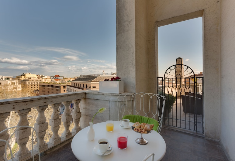 Grand Hotel Palace, Rome, Executive Room, Balcony
