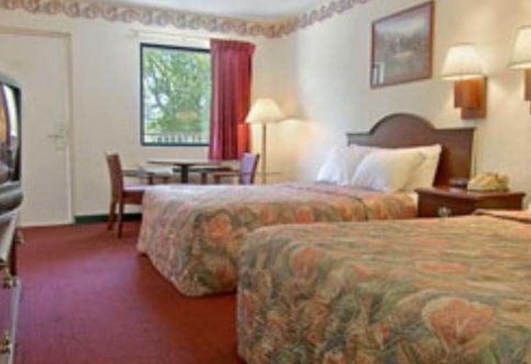 4 A's Inn, Chattanooga, Pokój, 2 łóżka podwójne, dla palących, Pokój