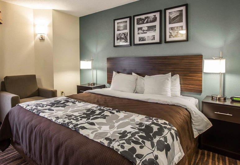 Sleep Inn Airport, Greensboro, Habitación estándar, 1 cama King size, para no fumadores, Habitación