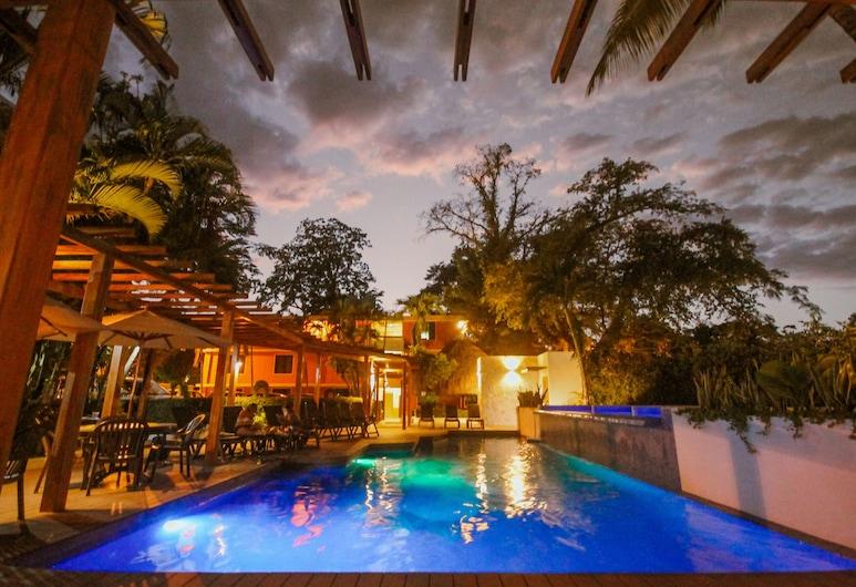 Hotel Maya Tulipanes Palenque, פלנקה, בריכה חיצונית