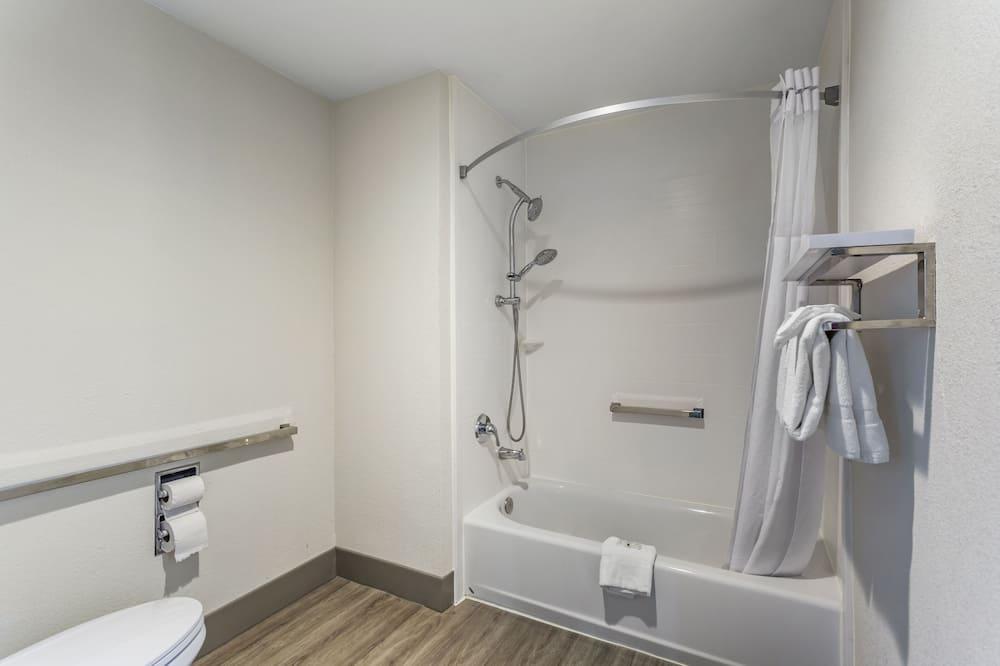 Suite, 1 king size krevet, pristup za osobe s invalidnošću, za nepušače - Kupaonica