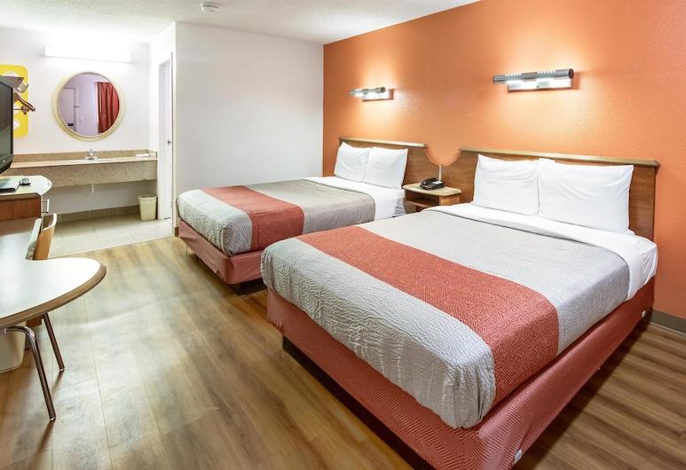 モーテル 6 デイトン オハイオ - エングルウッド, デイトン, スタンダード ルーム クイーンベッド 2 台 禁煙, 部屋
