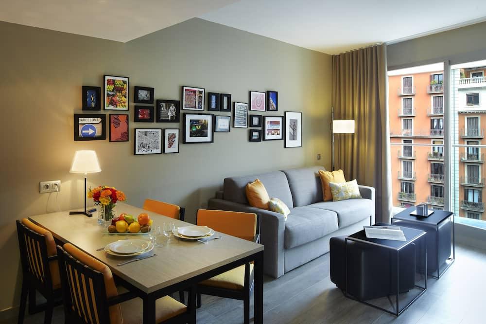 Apartemen, 1 kamar tidur - Ruang Keluarga