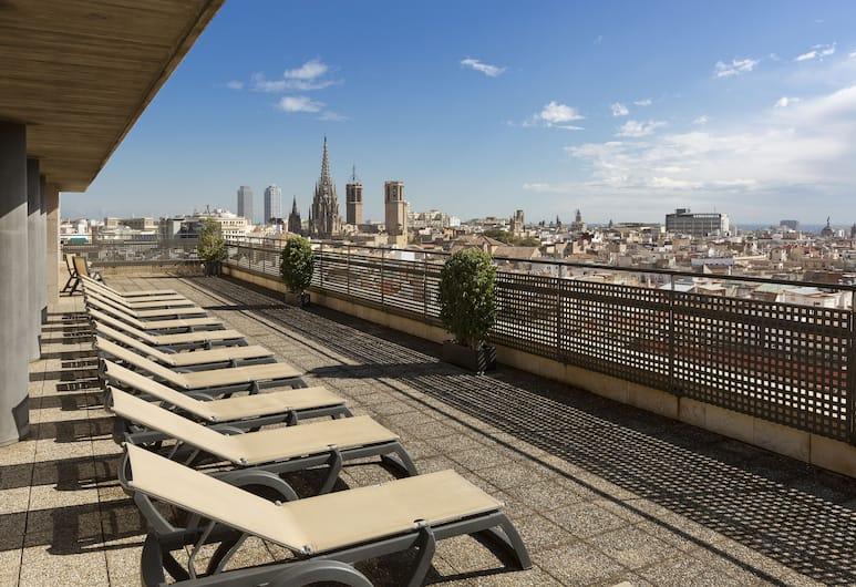 Citadines Ramblas Barcelona, Barcelona, Terrasse/veranda