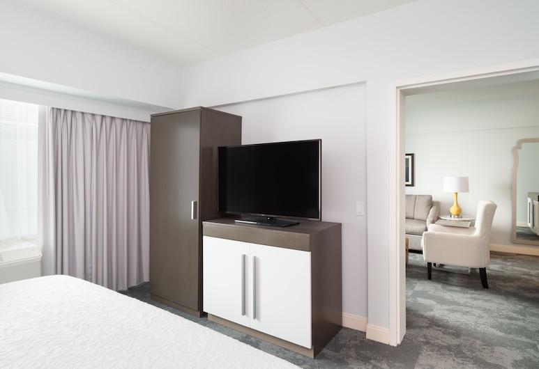Hampton Inn Philadelphia-Center City-Convention Ctr, Philadelphia, Suite, 1 cama King size con sofá cama, para no fumadores, Habitación