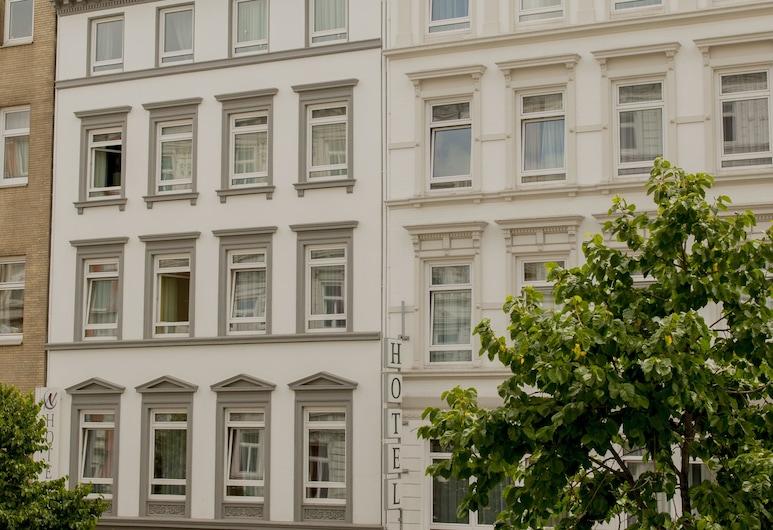 Hotel Residence am Hauptbahnhof, Hamburgas, Viešbučio fasadas