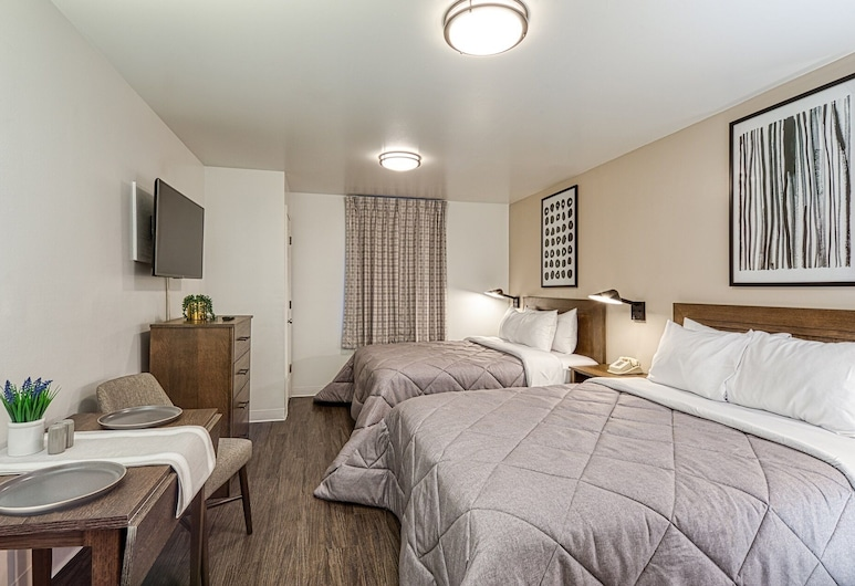 Intown Suites Extended Stay Tuscaloosa Al- University of Alabama, Tuscaloosa, Pokój Premium, 2 łóżka podwójne, Pokój