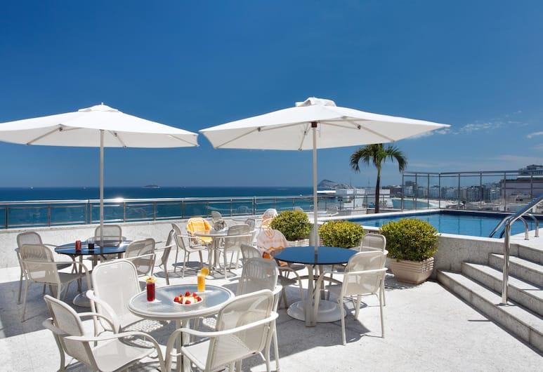 Windsor Palace Hotel, Rio de Janeiro, Terrasse/veranda