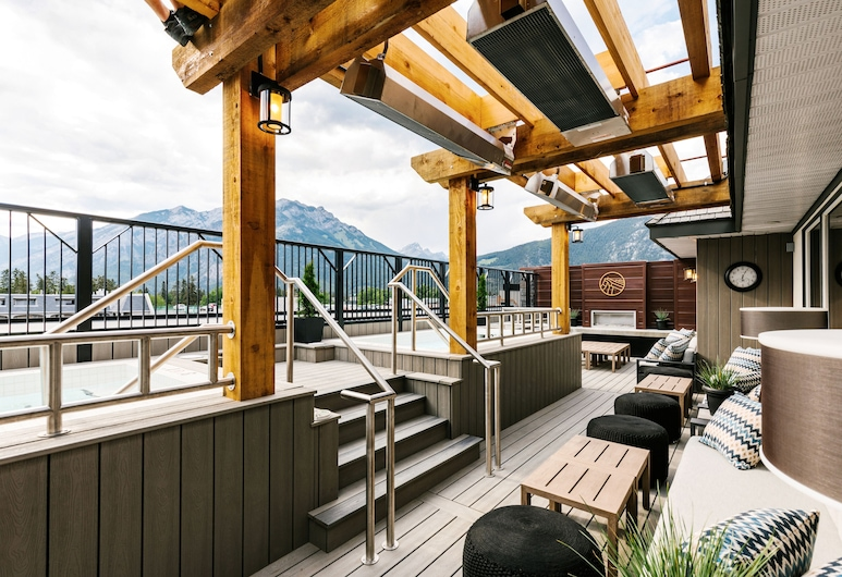 Mount Royal Hotel, Banff, Teras/Patio