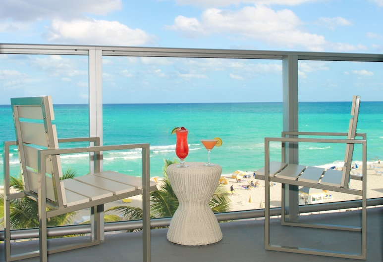 Cadillac Hotel & Beach Club, Autograph Collection, Miami Beach, Suite, 1 soverom, ikke-røyk, ved havkanten, Balkong