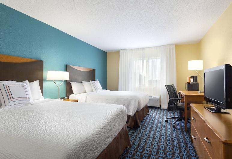 Fairfield Inn & Suites Saginaw, Saginaw, Δωμάτιο, 2 Queen Κρεβάτια, Δωμάτιο επισκεπτών