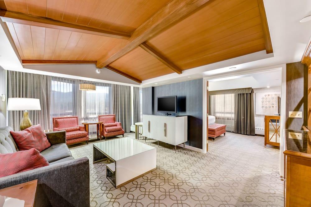 Premium Spa Suite King Non-Smoking - Obývací prostor