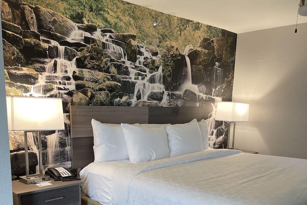 Suite - 1 kingsize-seng med sovesofa - ikke-ryger (Corner Suite) - Værelse