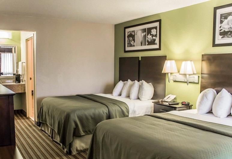 Quality Inn Kenly I-95, Kenly, Soba, 2 queen size kreveta, pristup za osobe s invalidnošću, za nepušače, Soba za goste