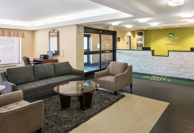 Quality Inn Richmond Airport, Сендстон, Фойє