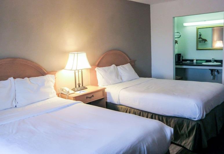 Rodeway Inn, ברזיל, חדר סטנדרט, 2 מיטות זוגיות, ללא עישון, חדר אורחים