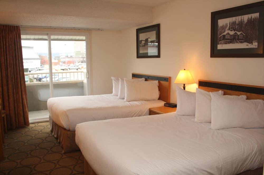 Pokój, 2 łóżka podwójne, dla niepalących - Balkon