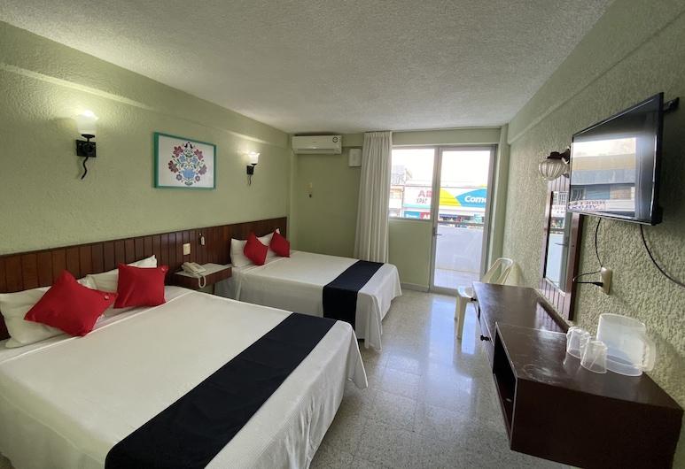 Hotel Batab , Cancún, Habitación superior, 2 camas dobles, Habitación