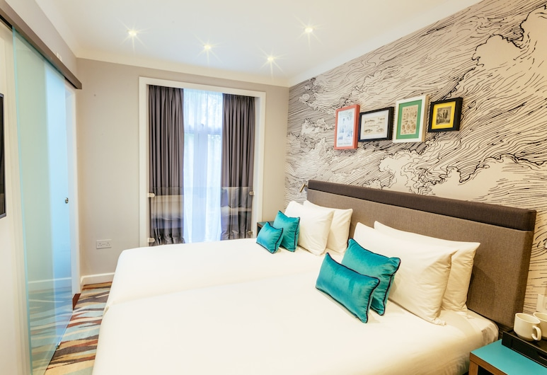 Oliver Plaza, London, Twin Room, Guest Room