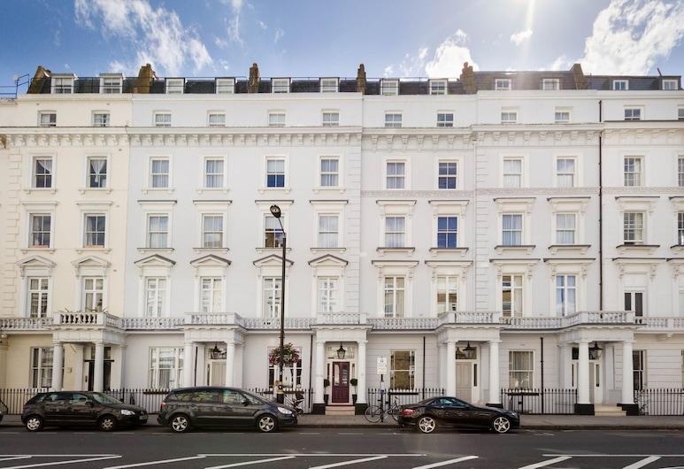 The Belgrave, Lontoo, Hotellin julkisivu