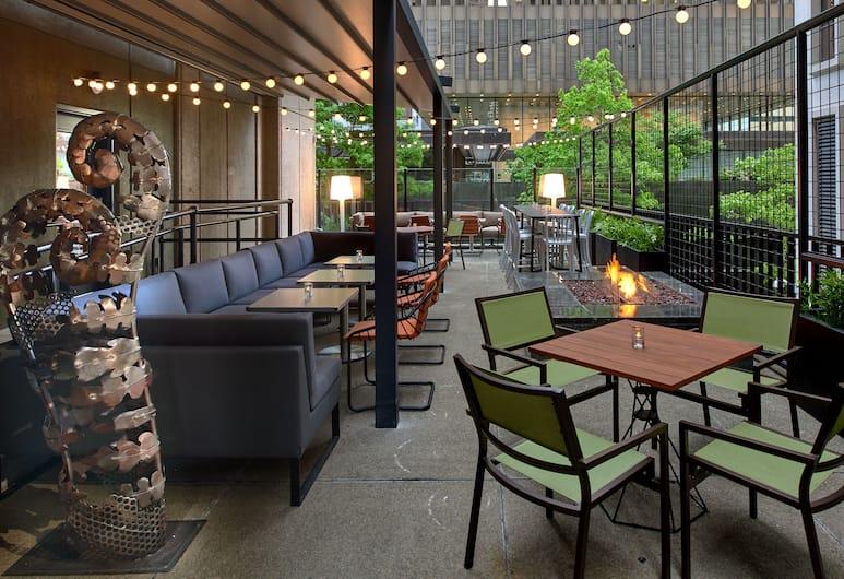 摩納哥西雅圖金普頓酒店, 西雅圖, 室外用餐