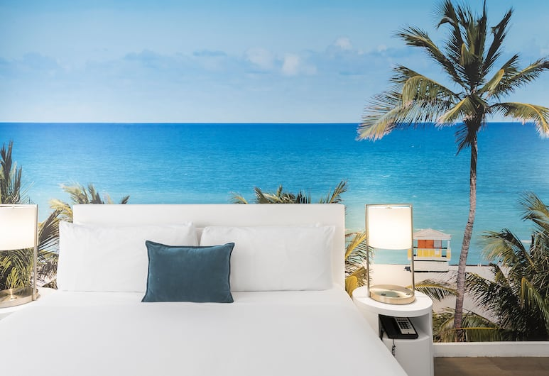 The Penguin Hotel, Miami Beach, Traditional Room, 1 King Bed, Guest Room