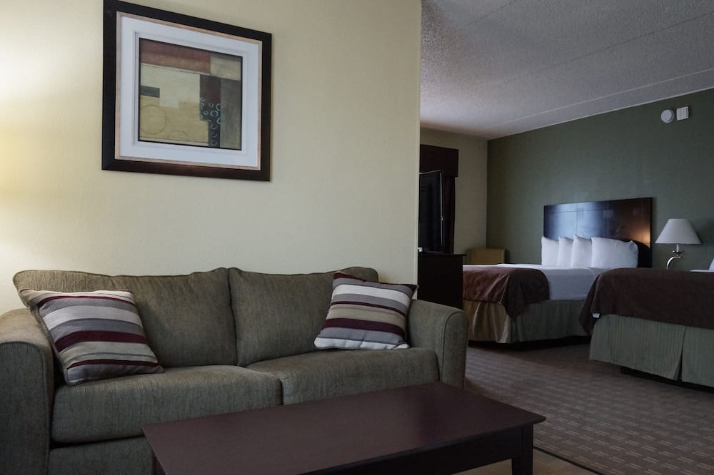 Suite, 1 King Bed with Sofa bed, Non Smoking, Kitchenette (with Sofabed) - Living Area