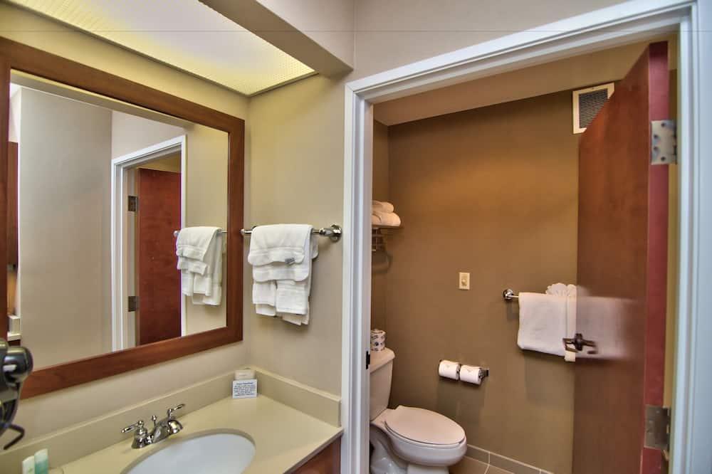 Apartmán, 2 veľké dvojlôžka, nefajčiarska izba - Kúpeľňa