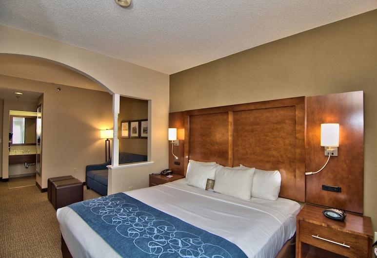 Comfort Suites Scranton near Montage Mountain, Moosic, Suite, 1 cama king-size, Não-fumadores, Quarto