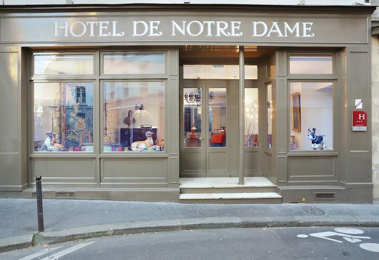 Hotel De Notre Dame Maître Albert, Paris, Hotel Front