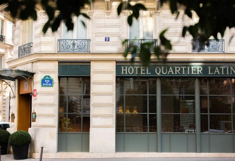 卡地亞拉丁酒店, 巴黎, 酒店正面