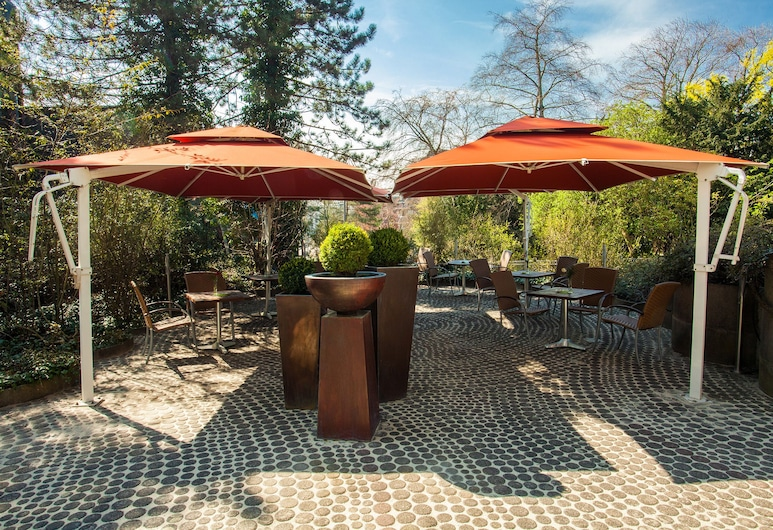 Trip Inn Klee am Park Wiesbaden, Wiesbaden, Terraço/Pátio Interior