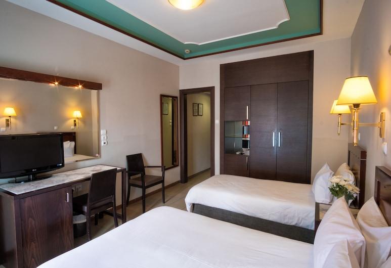 Pythagorion Hotel, Athene, Driepersoonskamer, Kamer
