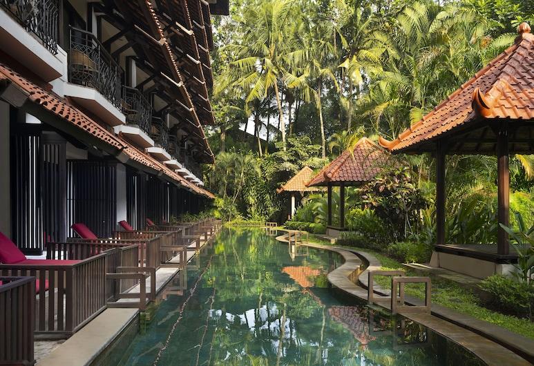 Sheraton Mustika Yogyakarta Resort and Spa, Depok, Room, 2 Twin Beds, Non Smoking, Balcony (Lagoon Access), View from Hotel