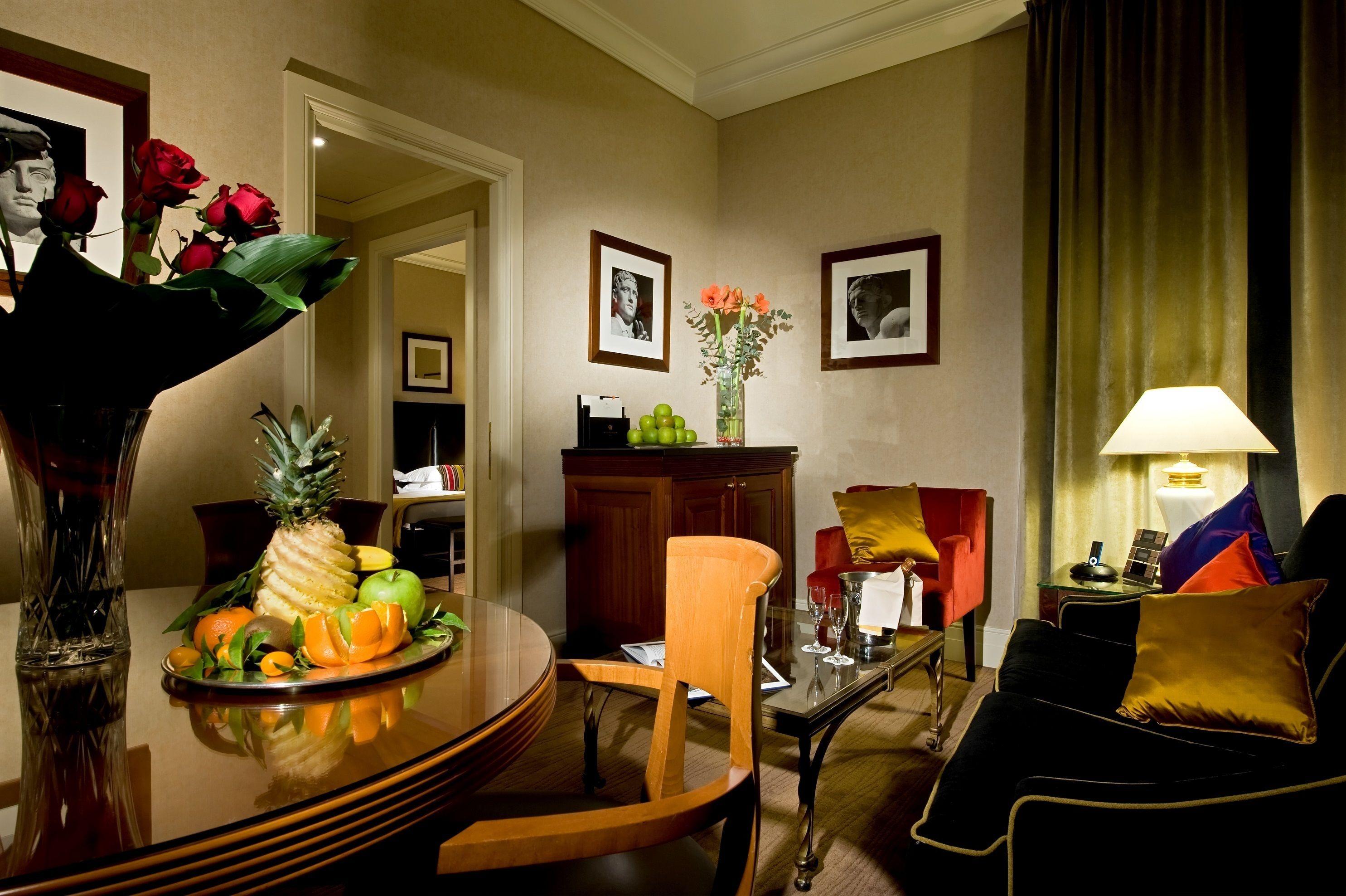 Hotel Dei Mellini, Rome, Suite, Gjesterom